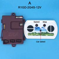 Remote Control Bluetooth + Receiver 12v Tipe A mobil/motor mainan aki