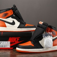 AIR JORDAN 1 HIGH SHATTERED BACKBOARD ( UNAUTHORIZED AUTHENTIC )