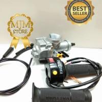 Paket Murah Karburator NSR Keihin PE28 Plus Gas Spontan Daytona Tombol