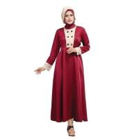Gamis Muslimah Kasual Wanita - SNS 257