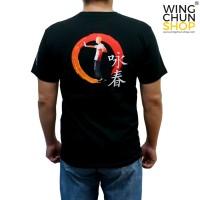 Kaos Wing Chun Custom Hitam a736cc0a64