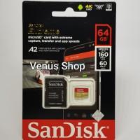 SANDISK EXTREME MICROSD 64GB 100MB/S -MICROSD EXTREME 64 GB 100 MBPS