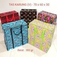 Tas Karung Plastik JUMBO (V)70x60x30 Laundry Shopping Bag Tas Souvenir