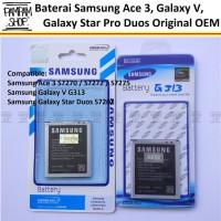 Harga baterai handphone samsung galaxy star pro duos s7262 original | Pembandingharga.com