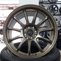Velg Mobil Import DRIFT Hsr Wheel Ring 17 Semi Bronze Global Medan