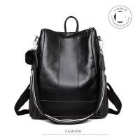 Tas ransel fashion bag import hitam Jinjing 20117