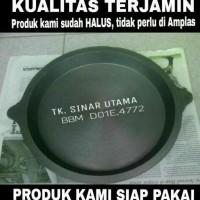Harga siap kirim loyang martabak bangka 20cm kompor wajan   Pembandingharga.com