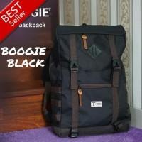 bagpack original / tas ransel gendong outdoor boogie black
