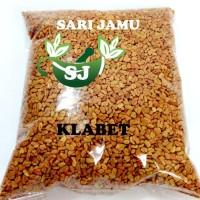 Harga jamu herbal tradisional biji klabet super 500 gr untuk melancarkan | Pembandingharga.com
