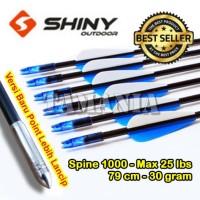 Arrow Anak Panah Fiber 6mm Spine 1000 SHINY A-01
