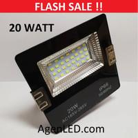 LED SOROT 20W Flood Light Lampu penerangan tembak 20 w watt outdoor