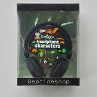Smiggle Characters Headphones Black SALE