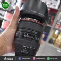 [SECONDHAND] Canon EF 24-105mm f4L IS USM - UB52 @Gudang Kamera Malang