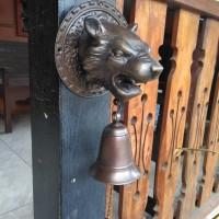Bel Pintu Macan / Brass Doorbell - Bel Pintu Antik