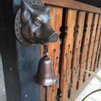 Bel Pintu Babi / Brass Doorbell - Bel Pintu Antik