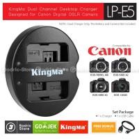KingMa Charger LP-E5 for Canon 450D 500D 1000D KISSX2 KISSX3 etc