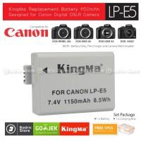 KingMa Baterai LP-E5 Canon Battery 450D 500D 1000D KISSX2 KISSX3 etc