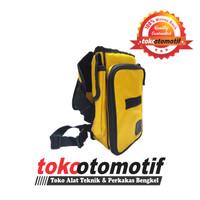 Tool Bag Kuning / Tas Tempat Alat Perkakas / Tas Selempang Berkualitas