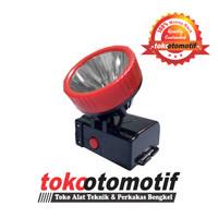 Senter Kepala (TLK-555) TESLA / Headlamp LED Rechargeable Berkualitas