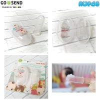 Little Baby Finger Toothbrush Super Soft Silicone Sikat Gigi Jari Bayi