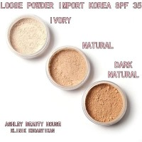 BEDAK TABUR LOOSE POWDER IMPORT KOREA SPF 35 500 GRAM