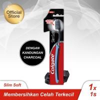 Colgate Slimsoft Charcoal Toothbrush/Sikat Gigi 1s (114821)
