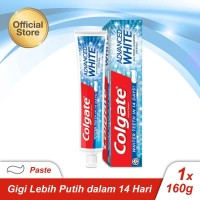 Colgate Advanced White Toothpaste/Pasta Gigi 160g (113630)