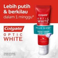 Colgate Optic White Plus Shine Toothpaste/Pasta Gigi 100gr