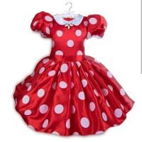 Disney Minnie Mouse red polkadot costume sz 4