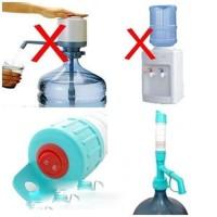 pompa galon air minum elektrik baterai / water dispenser electric pump