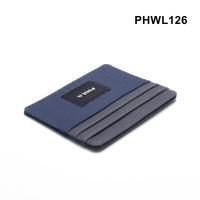 dompet kartu tipis - card wallet - simple wallet navy grey PHWL126