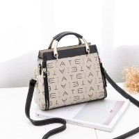 * B88368-Black/Brown/Gray/Pink/Red-Tas Import Batam Vc88368