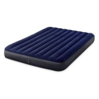 Kasur Durabeam Blue Airbed 152x203 - INTEX 64759 Classic Downy Airbed