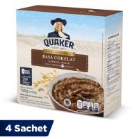Quaker Oatmeal Cokelat Box 4 Sachets