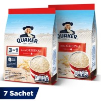 Quaker 3in1 Original Pouch 7 Sachets - Twin Pack