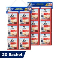 Quaker 3in1 Original Renceng 20 Sachets - Twin Pack