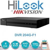 DVR HILOOK 4CH OEM HIKVISION - perekam kamera CCTV 2MP 204G-F1 1080P