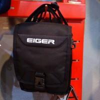 Tas Selempang Eiger Stripe2 Bag Black Hitam 91000 0716 Original Keren