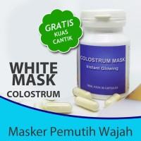 Beauty Mask / Masker Glowing Colostrum Pemutih Wajah & Anti Aging
