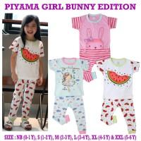 Kazel Piyama Girl Bunny Edition Tangan Pendek Celana Panjang 0-5Thn