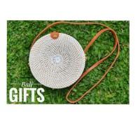 Tas Rotan Bali Putih Souvenir dan Gift - Bali Gifts