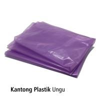 Kantong Plastik Ungu 60x80cm pak isi50