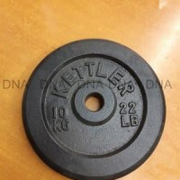 [Khusus Gosend/Grab] Iron Weight Plate 10 KG KETTLER - ORIGINAL