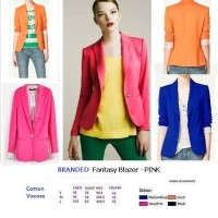 FANTASY BLAZER - HOT PINK - Made in Morocco - FACTORY OUTLET BRANDED
