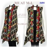 Cardigan batik gamis Tunik batik wanita outer atasan blouse batik A604