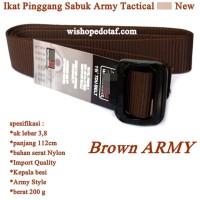 Ikat pinggang Army COKLAT