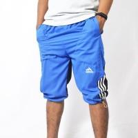 Celana Training Adidas Parasut 3/4 Biru