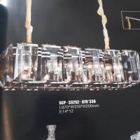Lampu hias gantung kristal kaca minimalis SCP33252-870*330