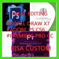 Promo Corel Draw X7, Adobe Ps Cs6, Adobe Premire
