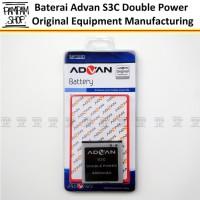 Baterai Handphone Advan Double Power S3C Original | Batrai, Batre Dual